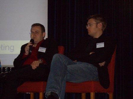 Panel: Fragen zum Thema! - Uwe Tippmann, Johannes Beus